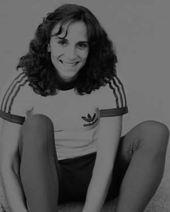 Marion 1978 in Köln bei den Deutschen Meisterschaften - Foto Gustav Schröder