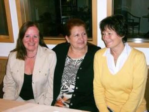 von li. nach re.: Monika Zech, Maria Lang und Monika Schnug