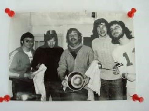 von links: Klaus Piepel, Harald Syring, Peter Zech, Ralph Schröder, Herbert Schlippert