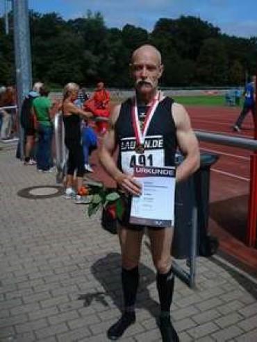 Volker Büchle, Deutscher Seniorenmeister über 1500 m in der M60