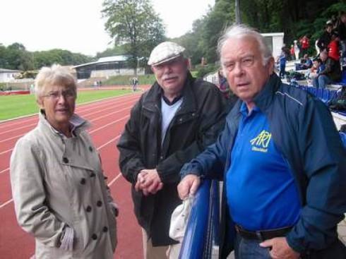 v.li.: Ingrid Adam, Peter Zech und Karl-Hermann Lammert