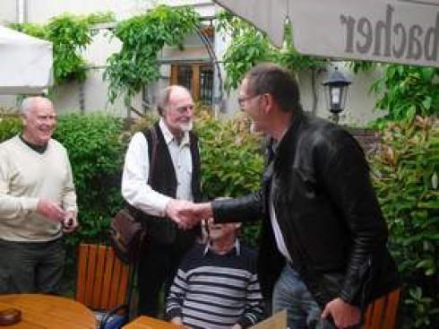 v.li.: Rudi May, Felix Schmitz und Uli Reuter
