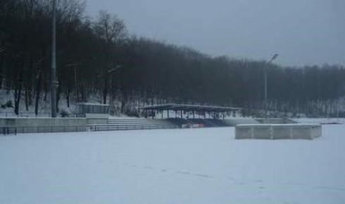 Rather Waldstadion Ende Dezember 2010