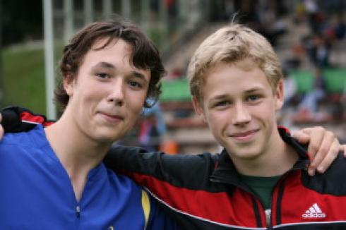 ART-Sprinter: Tim-Alexander Fischer und Leo Nuy
