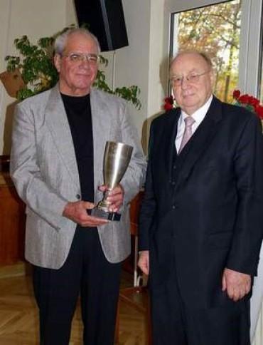 v.li.: Gerhard Bruckhaus und Adolf Böhr