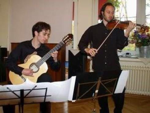 Duo con Espressione: v.li. Mikhail Kuchersky, Alexander Brodski