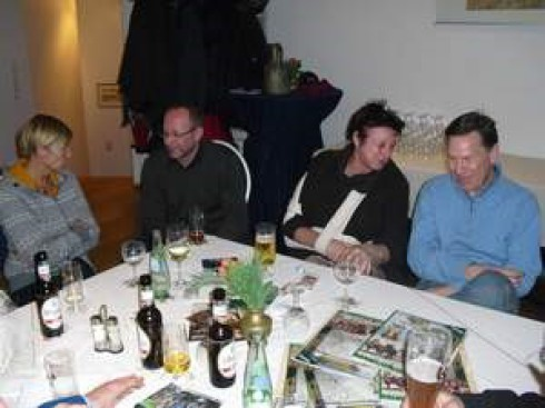 v.li.: Katharina Hagemann, Ralf Breuer, Inge Neuner geb. Lange und Harald Syring
