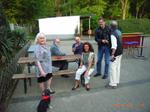 (v.l.n.r.) Frau Riedel, Josef Wesselmann, Harald Riedel,  Frau Wesselmann, Uli Reuter, Klaus Leineweber