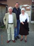 Uli Reuter mit dem Ehepaar Karl-Hermann und Karin Lammert.