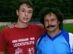 Trainer Juri Zwetkow wieder aus dem Urlaub zurück ist.