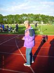 Beim Zielgericht dabei: Gisela Stecher