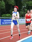 Beim 5000m-Lauf mit dabei