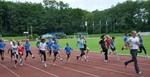 """Carolyn Moll, zweifache Jugendvizemeisterin über 100 m und Mitglied Team London 2012 Düsseldorf als """"Front-Runner""""."""