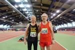 Unser Sportsfreund Reinhold Keller ( links ) aus Stuttgart mit einem seiner Konkurenten